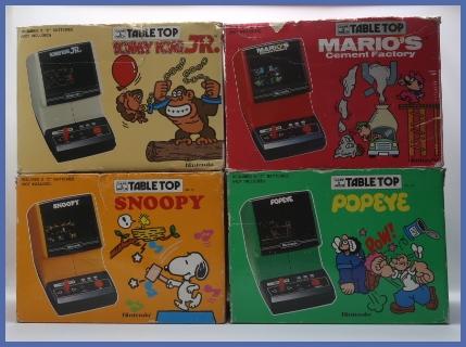 Nintendo Game Amp Watch Table Top Tietokonemuseo