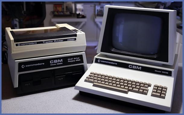 Commodore PET/CBM 8032 - Tietokonemuseo